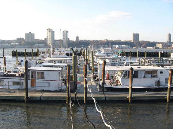 House Boat, 79th Street Boat Basin, Hudson River, Manhattan
