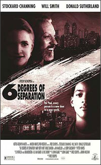 six degrees of separation film locations on the set of