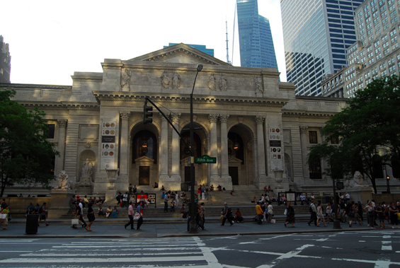 New York Public Library in Films